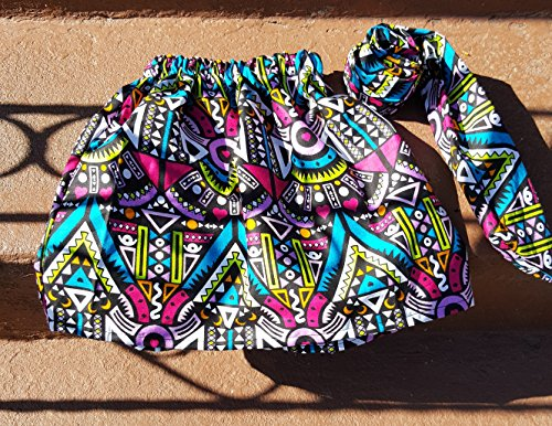 Kente skirt/African clothing/toddler clothing/toddler skirt/newborn skirt/infant skirt/African fabric by brooklynethnic