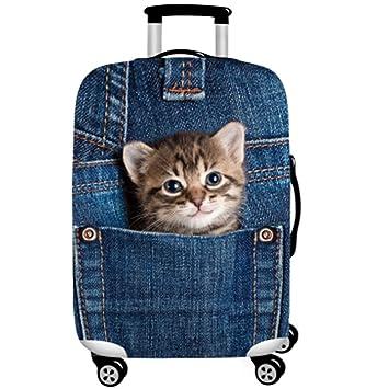 Amazon.com: WUJIAONIAO Funda protectora para equipaje de ...