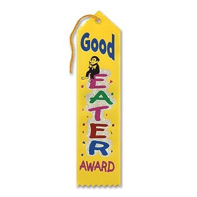 Beistle Good Eater Award Ribbon: Toys & Games