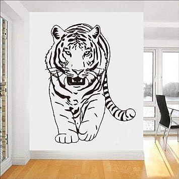JXWH Campana extractora de Pared Estufa de Porcelana Animal Tigre Etiqueta de la Pared 58 X 77 cm: Amazon.es: Hogar