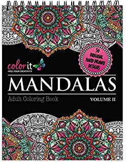 Mandala Coloring Book For Adults With Thick Artist Quality Paper ...