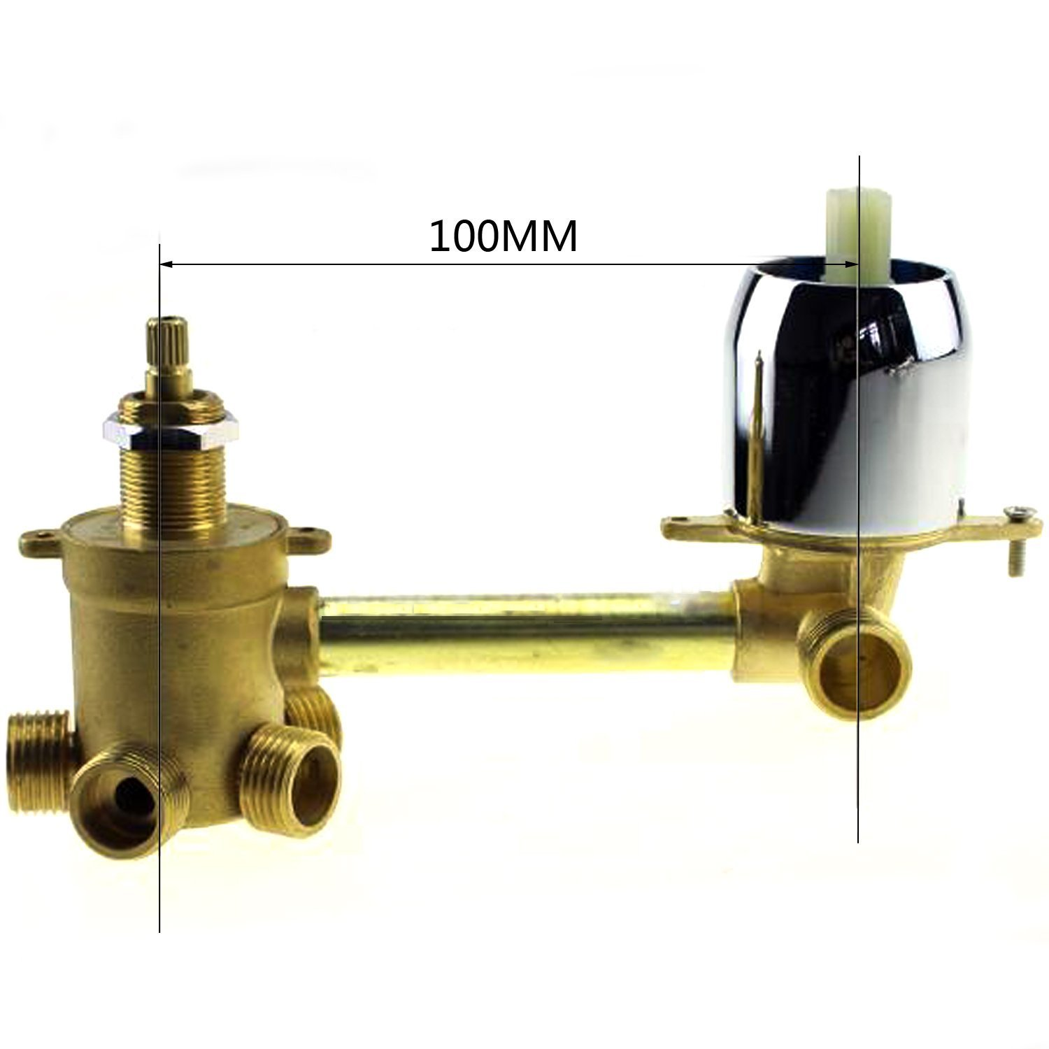 5 way water outlet bathroom shower mixer faucet, shower mixing valve