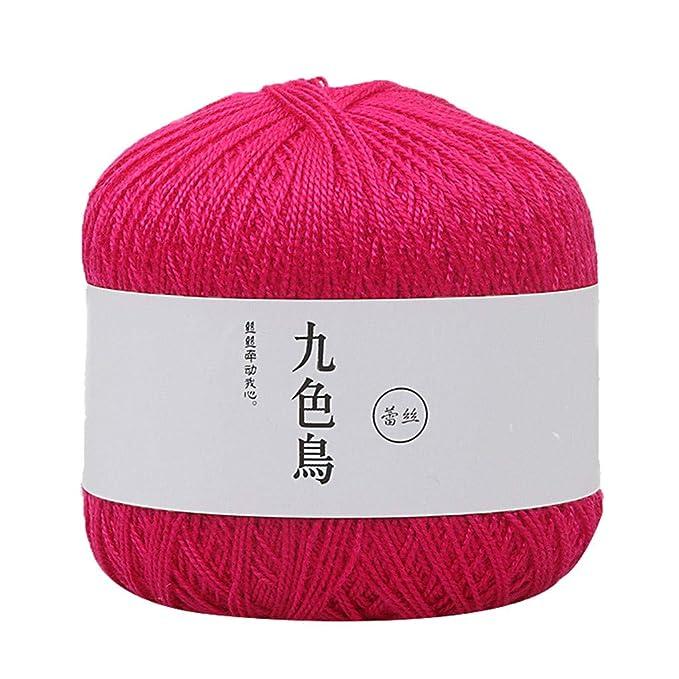 TwoCC-Lana,paquete esencial de bolas de lana suave - Línea de ...