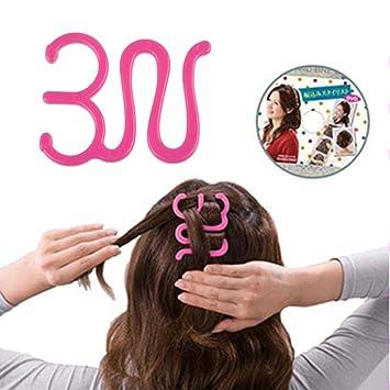 VANKER - sujetador de pelo trenzado para mujer y niña: Amazon.es: Belleza
