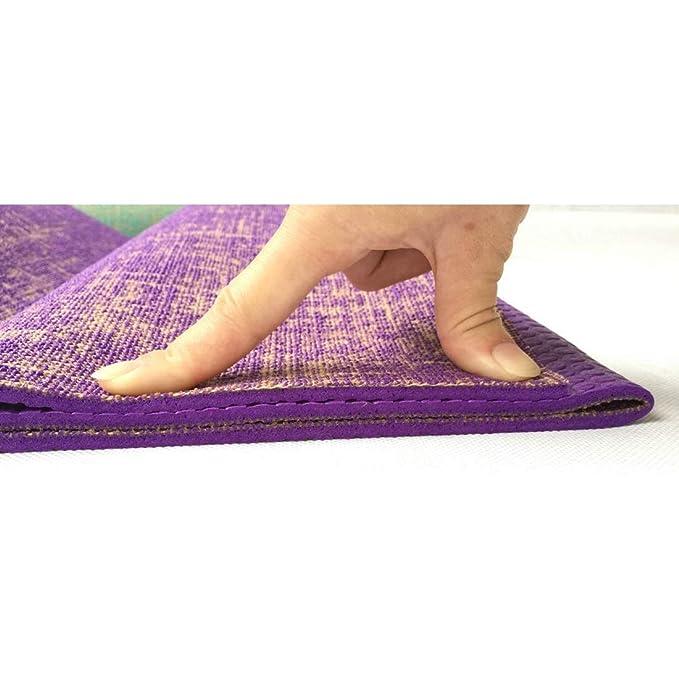 YUMUYMEY PVC Yoga Mat Ambientalmente amigable Antideslizante ...