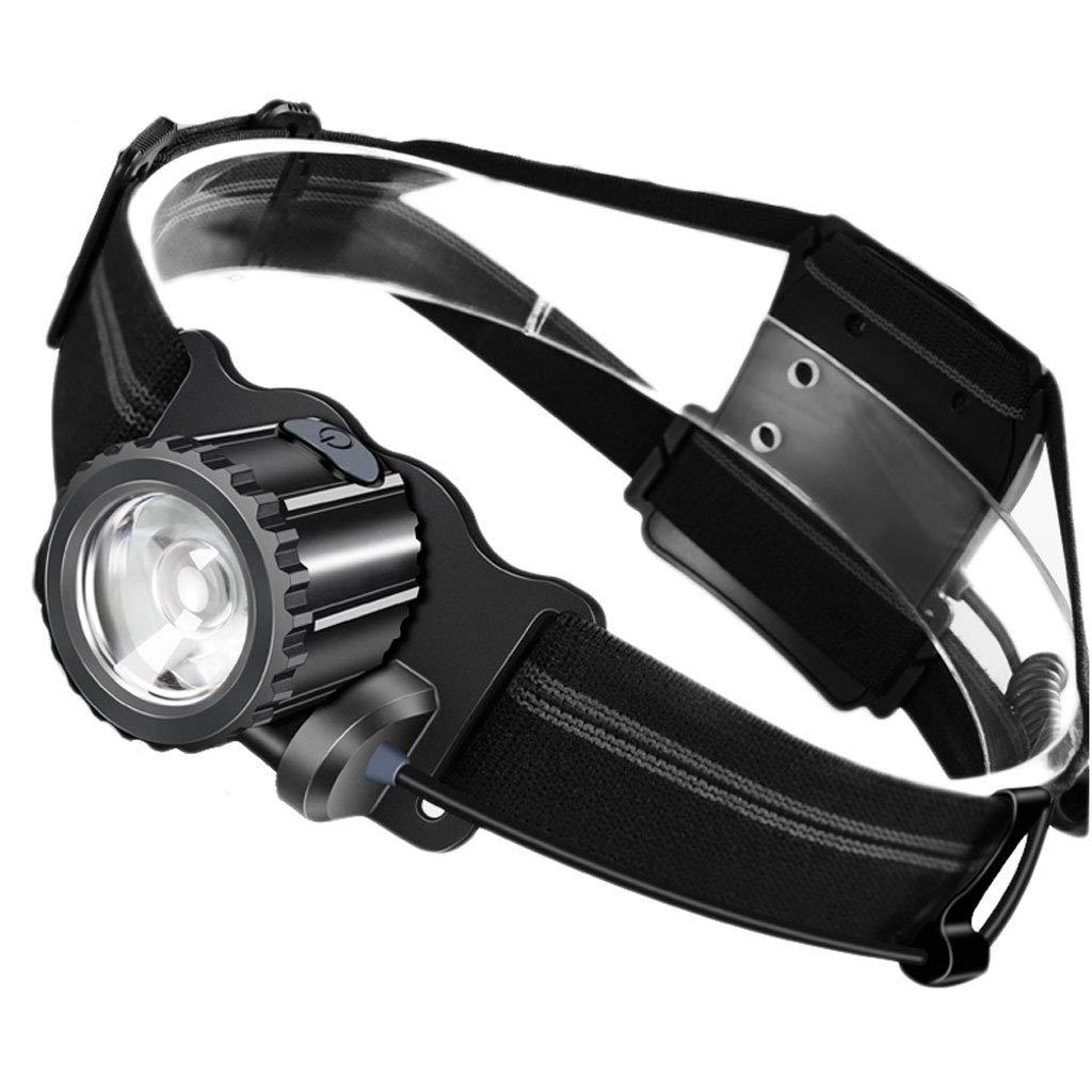 Ultra-Light LED Scheinwerfer Blendung Wiederaufladbare Super Bright Head-montierte Taschenlampe Outdoor Jagd Angeln Wasserdicht Miner's Lampe