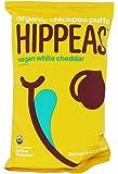 HIPPEAS Organic Chickpea Puffs + Vegan White Cheddar | 4 ounce | Vegan, Gluten-Free, Crunchy, Protein Snacks