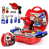 Kids Tool Set, Tool Box Toy Set, Construction Tools Toy for Boys...