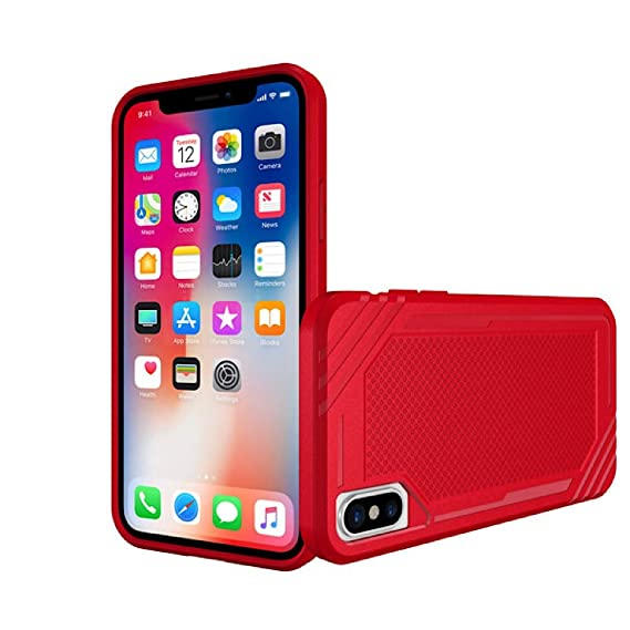 competitive price ffa2c 2c6a0 Phone Case for iPhone X XS Cases Gold Silver and Space Grey | Red Case |  TPU Defensive Cover Skin | Anti-Scratch Protective Cover Case | Promo Code  ...