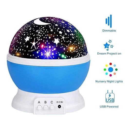 AYRSJCL La Estrella del proyector de la lámpara de la Noche ...