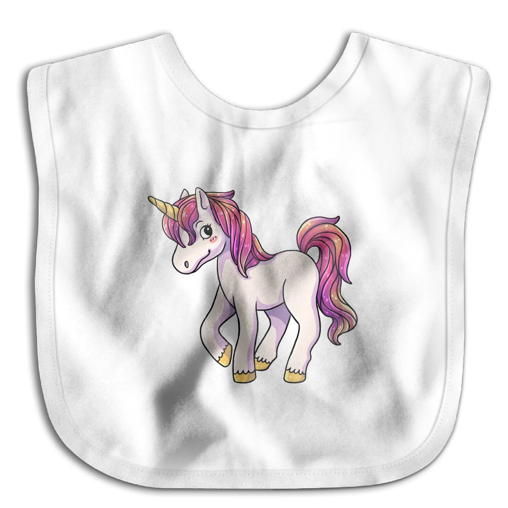 MGDBB Baby Burp Cloths Brand New Cartoon Unicorn Bib Baby