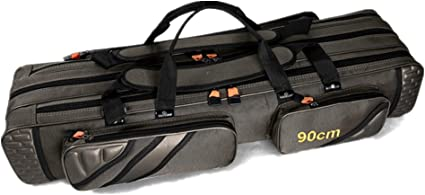 Folding Fishing Rod Holdall Bags Carrier Pole Tool Storage Case Gear Tackle Reel