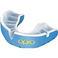 OPRO Protector bucal Gold para Rugby, Hockey, MMA, Boxeo, Baloncesto y Otros Deportes de Contacto