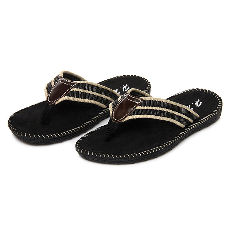 WYSBAOSHU Mens Flip Flops Casual Indoor & Outdoor Flip-Flops Beach Slippers:  Amazon.co.uk: Shoes & Bags