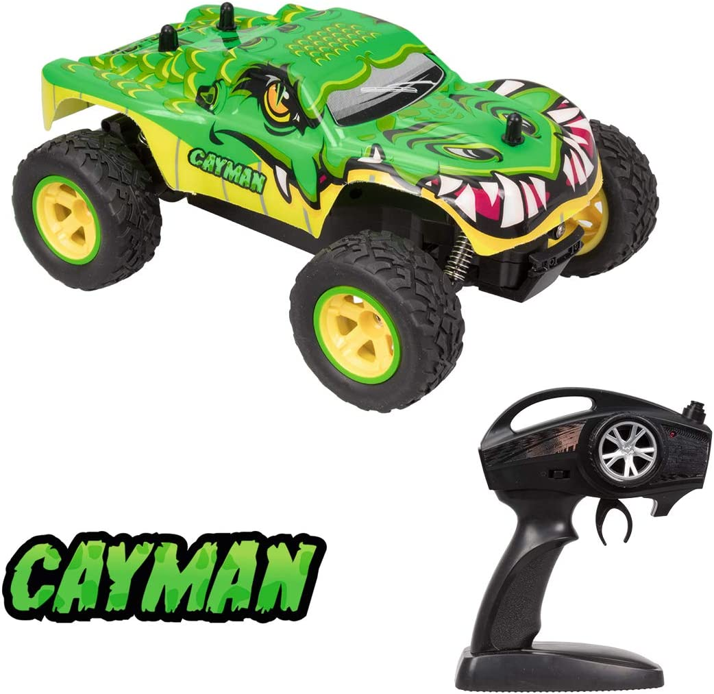 Xtrem Raiders Cayman, Todoterreno 4x4, teledirigidos para niños, Coches RC, radiocontrol (World Brands XT180767)