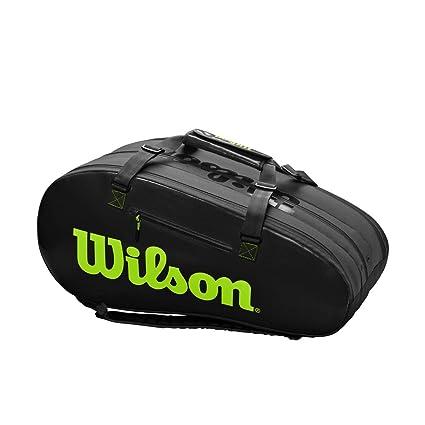 Amazon.com: Super Tour Wilson - Bolsa de tenis (15 unidades ...