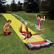 Lawn Water Slides with Spraying for Kids Slip and Slide Boys Girls Children Lawn Garden Play Swimming Pool Gam