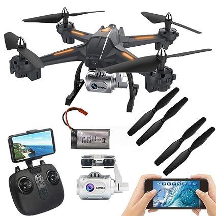Amazon com: Fine Drone S5 5 8G 1080P WiFi FPV Build-in 6