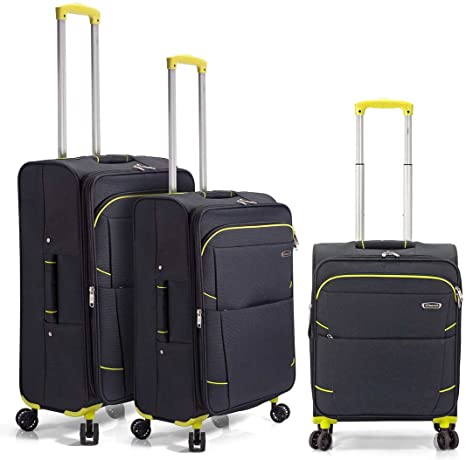 Benzi - Juego de maletas BZ5183 (Negro)