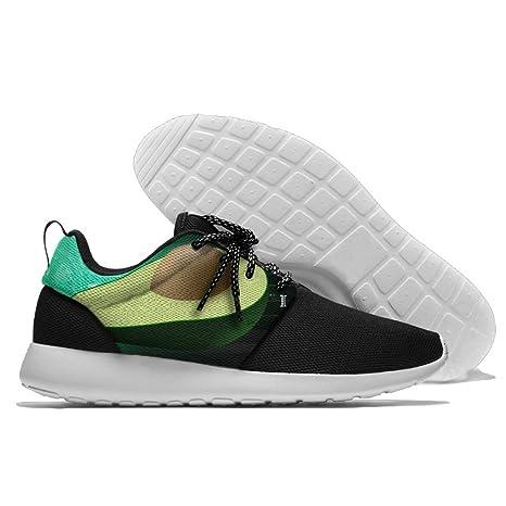 a58f70e4adfe58 Amazon.com  Avocado Vegan Fruit Men s Running Shoes Mesh Soft ...
