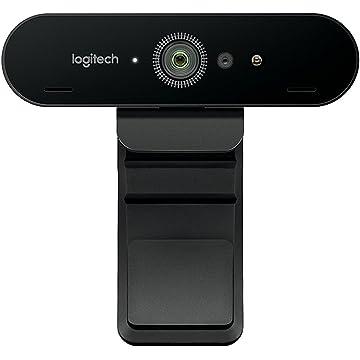 powerful Logitech Brio UHD Webcam