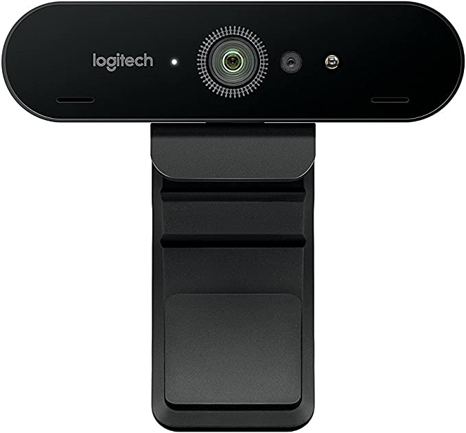 Amazon.com: Logitech BRIO Ultra HD Webcam for Video Conferencing, Recording, and Streaming - Black: Computers & Accessories
