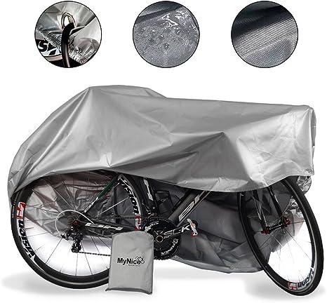 MyNiceOption Funda para bicicleta impermeable – resistente a los ...