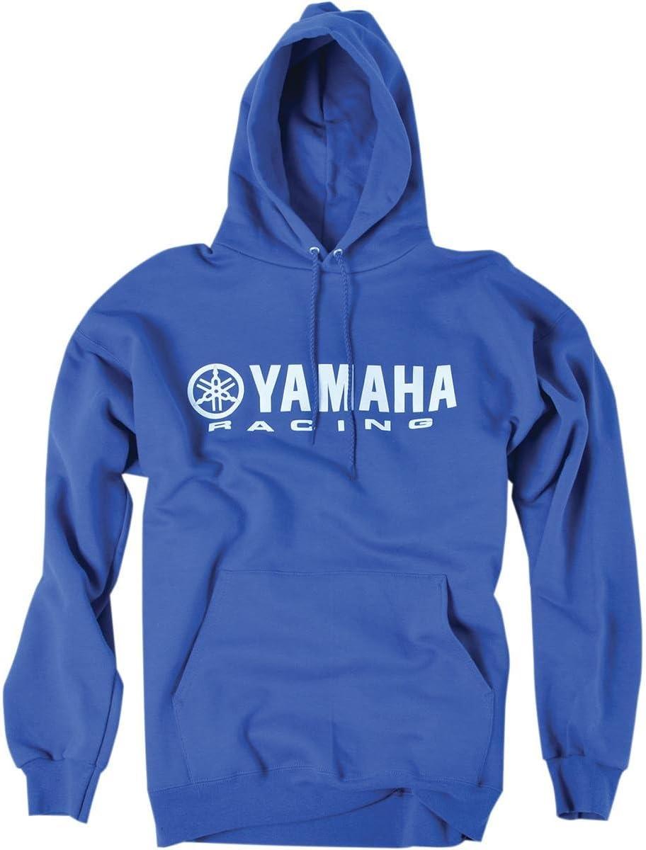 Blue, X-Large Factory Effex 12-88434 Yamaha Hooded Pull-over Sweatshirt