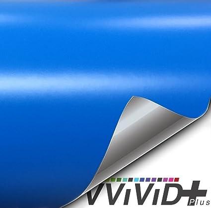 free car wrap kit Vvivid  Blue Diamond vinyl vehicle wrap 25ft x 5ft decal