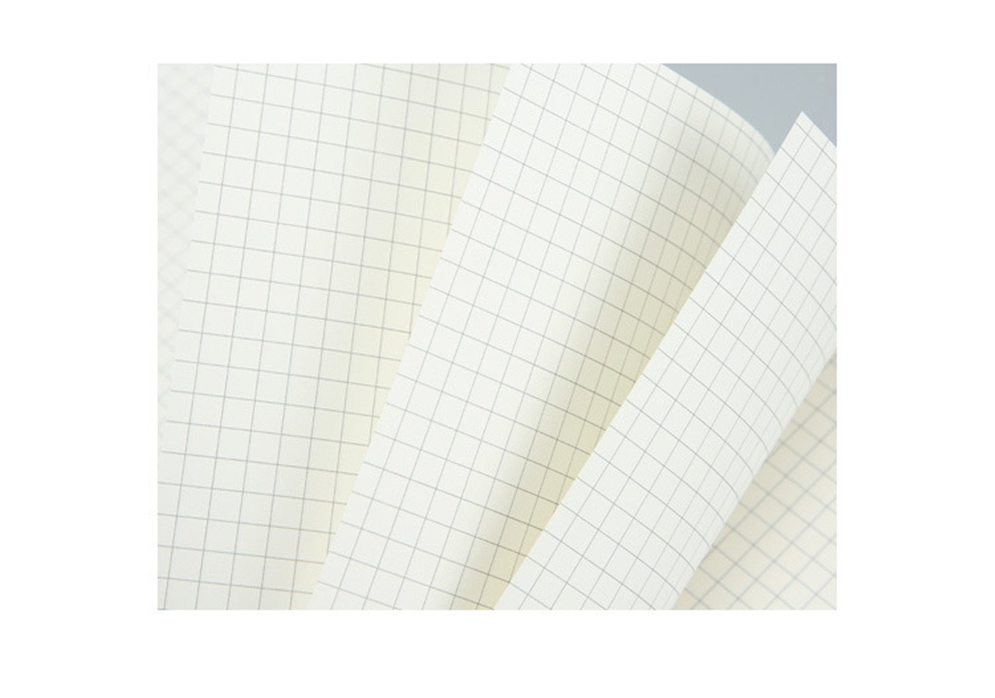 3pcs graph paper Set of 3 7.5x5 inch Design Chart Notebook |Travel Notebook Replacement Core Graph Paper Notebook 5mm Square Thick Paper