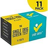 Care Check Marijuana THC Single Panel Drug Screen Test, Individually Wrapped 11 Home Drug Test Kits
