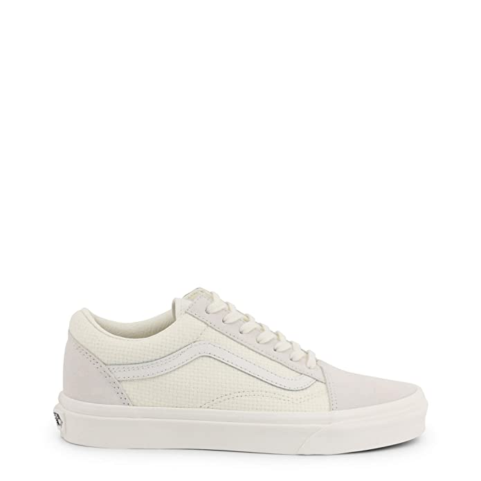 Vans Old Skool Sneaker Damen Herren Kinder Unisex Marshmallow Weiß