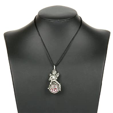 Top Engelsrufer mit Engel Halskette + Klangkugel in rosa Kette Amulett  Harmony Ball Anhänger e310132f97