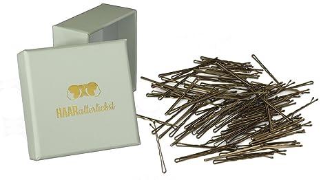 commercialisable grand assortiment procédés de teinture minutieux HAARallerliebst 100 pinces à cheveux Bobby Pins dans une ...