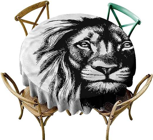 familytaste, manteles Redondos de león para Restaurante, Tatuaje ...