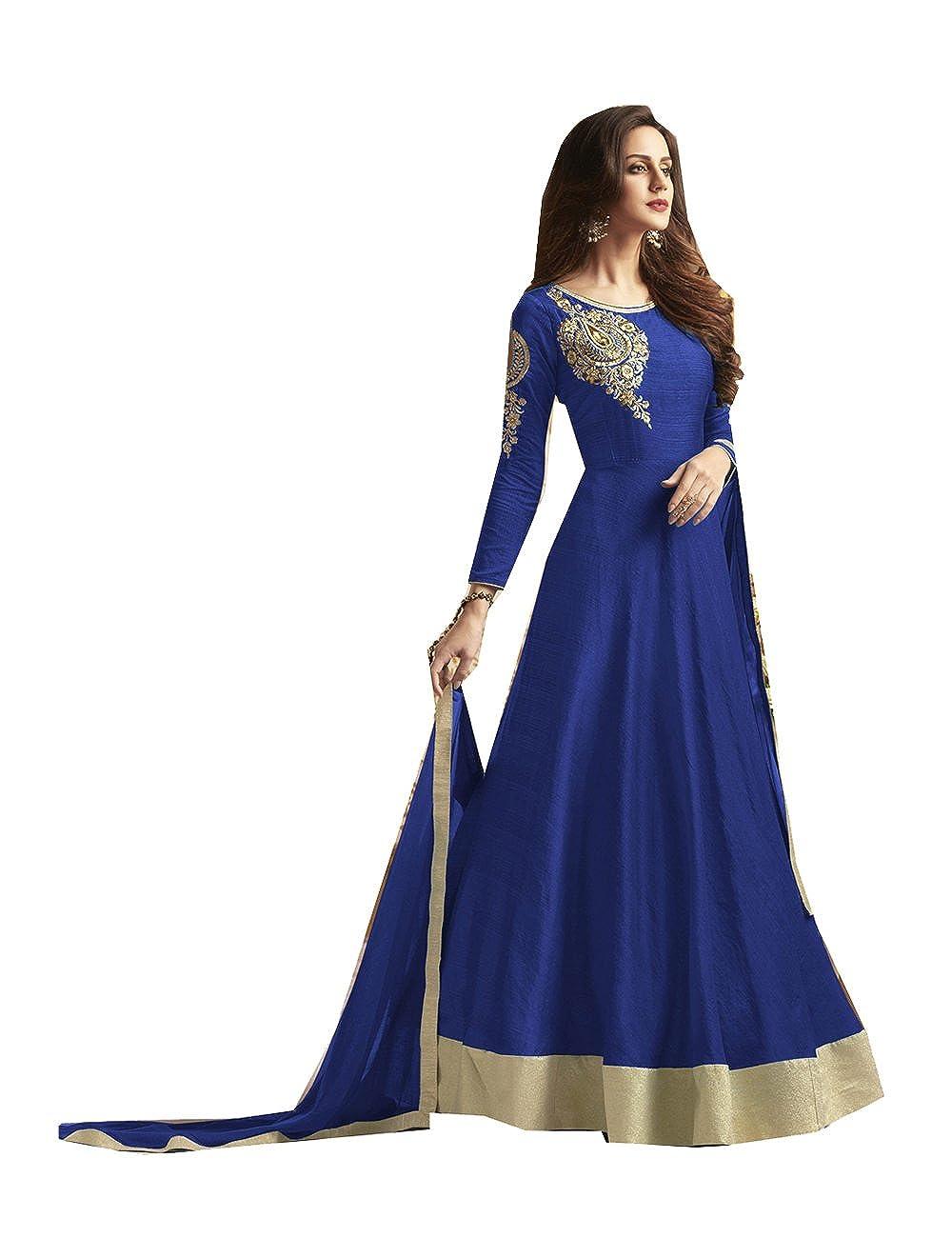 Indian Women Designer Partywear Ethnic Traditonal Anarkali Salwar Kameez. RCL-29095