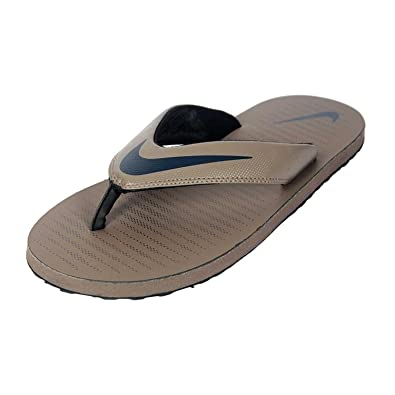 Nike Men s Chroma Thong 5 Flip Flops Brown  Amazon.co.uk  Shoes   Bags 1e2822d33
