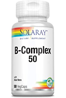 Solaray B-Complex 75: Amazon.es: Salud y cuidado personal
