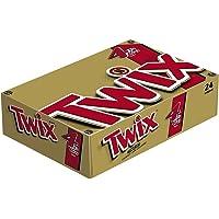 TWIX--Sharing Size Candy Bars--Classic Caramel Chocolate Cookie Bar Candy--Crunchy--24-3.02oz. Bars