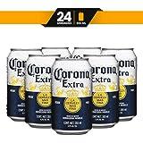 Cerveza Clara Corona Extra 24 latas de 355ml c/u