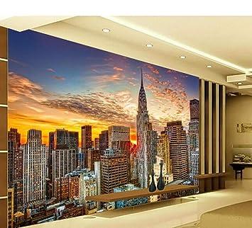 Ytdzsw Ciudad De Nueva York Paisaje Natural 5D Mural De Pared Papel De Pared Para Sala