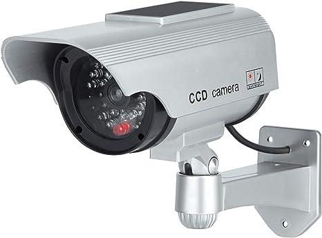 Fausse De Sécurité Caméra Cct Toroton Caméras Factices Avec Panneau Solaire