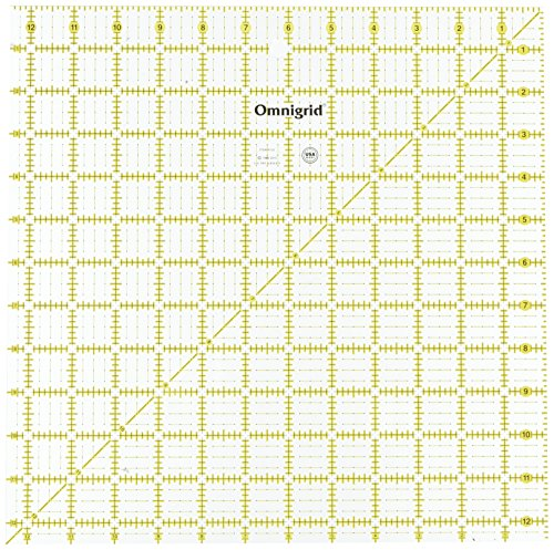 Omnigrid 12-1/2-Inch-by-12-1/2-Inch Quilter's Square by Omnigrid