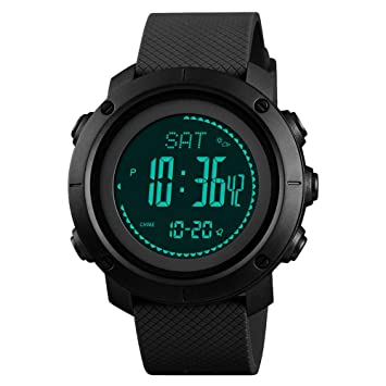 Amazon.com: INK HOME Smart Watch Altimeter Barometer ...