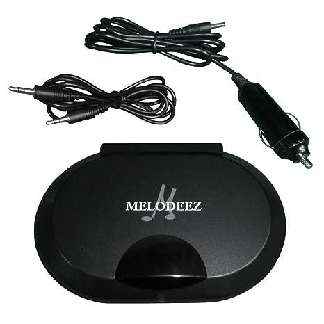 Infrarrojos IR transmisor de audio para reposacabezas reproductores de DVD portátil para auriculares inalámbricos conversión 12