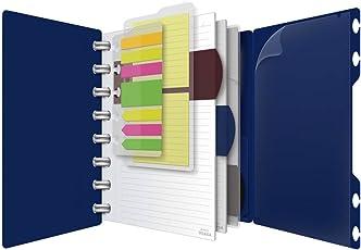 Ampad Hojas de recambio tamaño carta para cuaderno Ampad Versa Crossover, 6 x 9 Notebook, azul marino