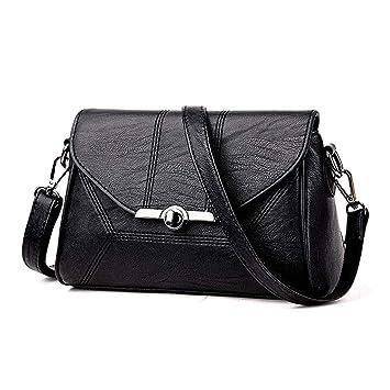 b235a5281d12 女性の革財布ショルダーバッグクロスボディバッグストラップ付きポーチファッション財布クラッチ,