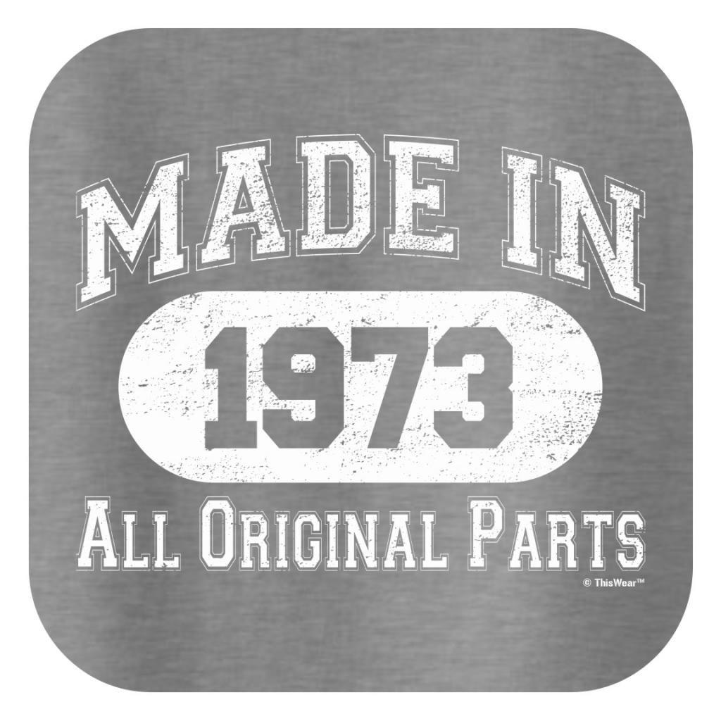 Amazon.com: Fabricado en 1973 All Original Parts Cumpleaños ...