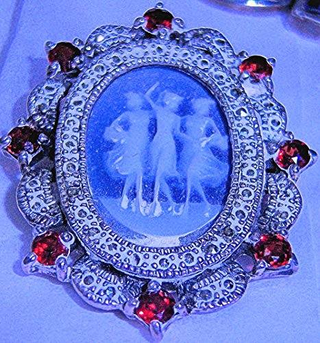 Gorgeous Marcasite Cameo - ss 2
