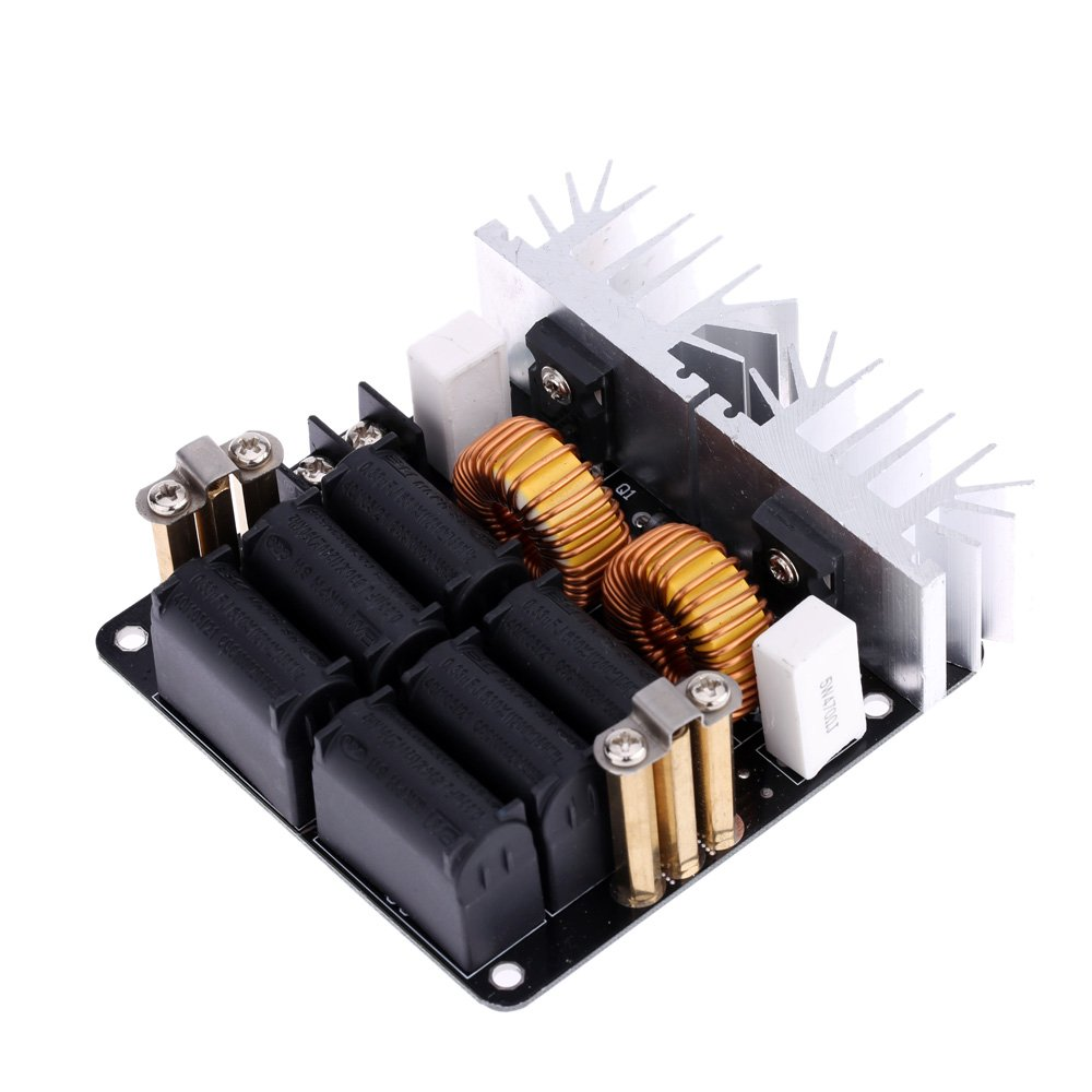 Kkmoon Low Zvs 12 48v 20a 1000w High Frequency Induction Transformer Tesla Coil Driver On Heater Schematic Diagram Heating Machine Module Home Improvement